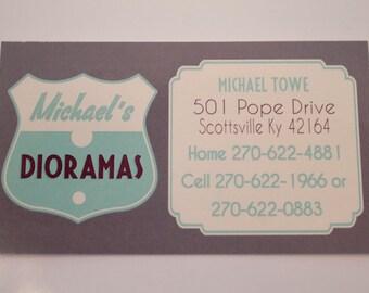 Business Cards - Rectangular Business Cards - Design your own Business Cards - Customized Business Card - Promotional - Calling Card
