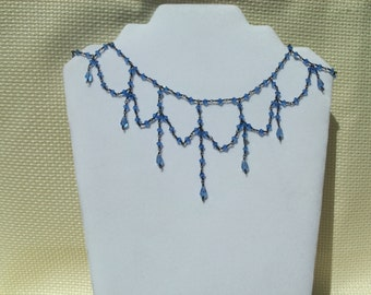 Sapphire crystal and wire choker