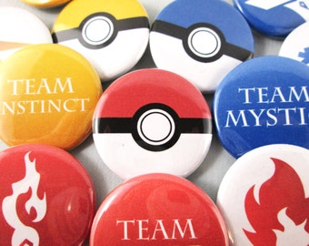 Pokemon GO Team Badge Sets