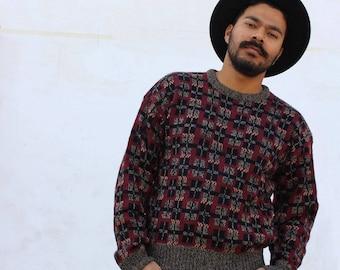 "Windridge"" patterned sweater"