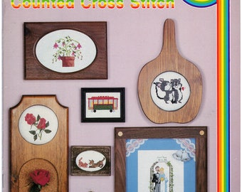 Cross Stitch Patterns – School House Of Counted Cross Stitch Book 6 – Vintage Cross Stitch Pattern Book – CC-6