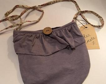 Purple pocket bag