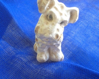 Carnival Chalkware - small dog