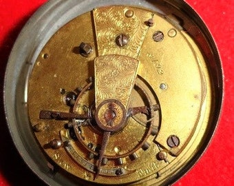 fusee pocket watch movement