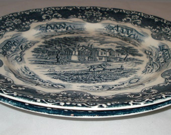 Vintage Plates x 2 from Grindley 'Country Inns' Collection