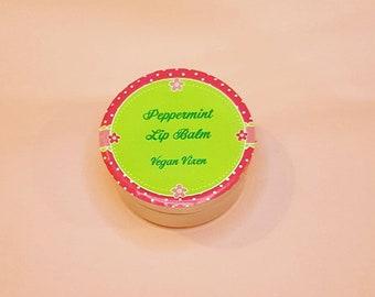 Vegan Vixen Peppermint Lip Balm