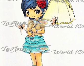 Cindy's Umbrella - Digital Stamp