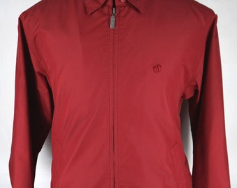 Men's Red windbreaker Jacket Exclusive by HANGTEN, Authentic Brand and Excellent Conditions.