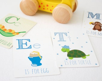 Alphabet Flashcards - ABC Flashcards - Educational Flashcards - Flash Cards