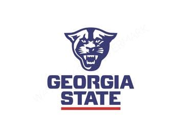 Georgia SVG and Studio 3 Cut File Stencil Decal Files Logo for Silhouette U Cricut SVGS Cutouts Football Decals Logos College State Panthers