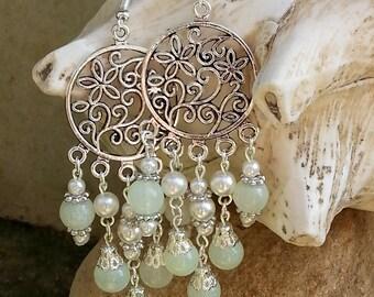 """Pearl chandelier Earrings """"Chandeliers"""""""
