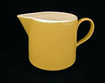 Vintage 1950's Yellow Creamer - USA