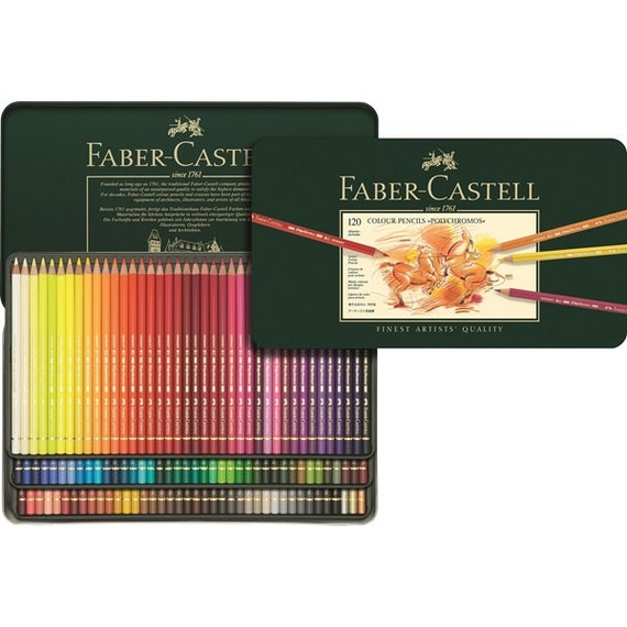 120 Faber Castell Polychromos Colored Pencils | Colored Pencil Set ...