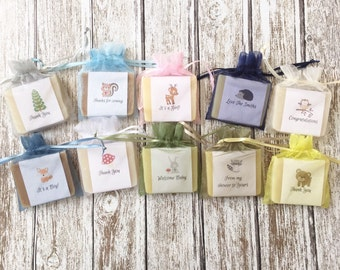 Woodland Soap Favors Baby Shower
