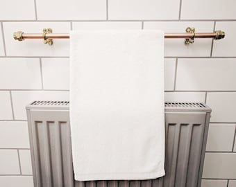 Copper Towel Rack | Towel Rail | Towel Bar | Hand Towel Holder | Bath Towel