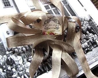 Rayon Seam Binding Ribbon Taupe Tan