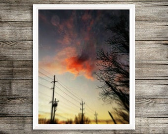 Autumn Sunset Limited Edition Wall Art/Photography