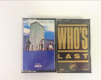 The Who Cassette Tapes