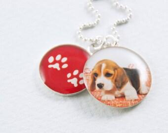 Custom Pet Necklace   Pet and Paw Pendants   Custom Pet Jewelry   Animal Jewelry   Dog Pendants   Puppy Pendants   Puppy Parent Gift