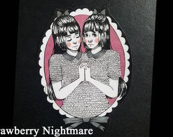 Large Twins Sticker