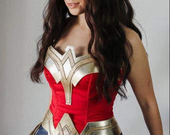 Wonder Woman Cosplay superhero costume. Custom made.