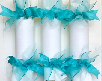 Turquoise Wedding Party Cracker