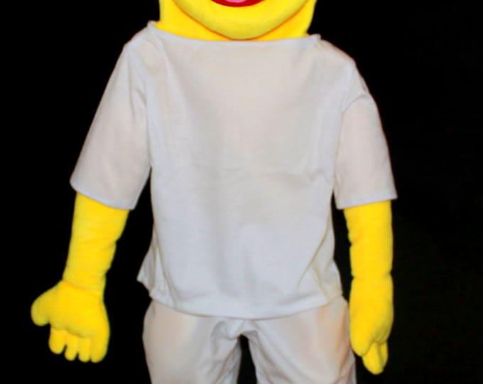 "New Black light puppet. Large 30"" Full/Half Body Puppet - Professional Puppets!"