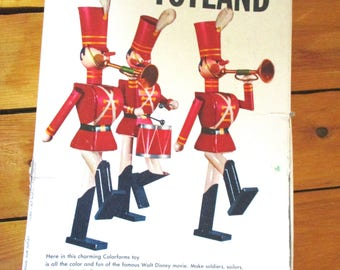 Babes In Toyland Colorforms 1961