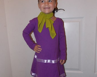 Custom made to Order Daphne Scooby Doo Dress and scarf