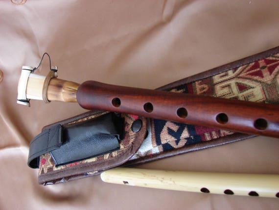 Armenian PRO FLUTE NEY BLOUL BLUL LEATHER CASE - Armenia ...  |Armenian Flute