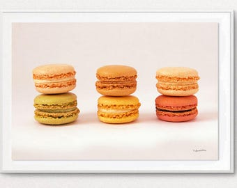 Photography - macaroons - decorative cookies - macaroons photo kitchen decor kitchen decor