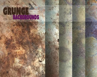 Grunge Backgrounds Collection, Metal Backgrounds, Rust Backgrounds