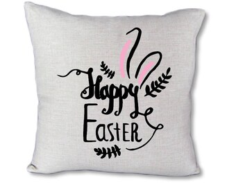 Happy Easter bunny-Pillow Cover