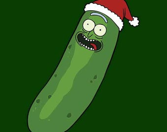 Pickle Rick Ornament or Keychain
