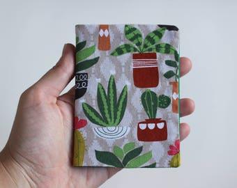Mini Notebook - Succulents