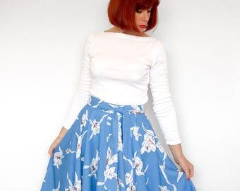 Women's Wrap Skirt - PDF Pattern--Digital Download