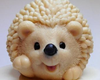 Hedgehog soap,  Soap Hedgehog,  Novelty Soap,  Cute soap gift, Christmas hedgehog, Xmas gift, Porcupine,  Birthday gift, Animal lover soap