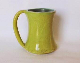 Yellow/Green Mini Mug