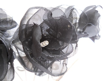 Flower Fairy Lights - Black