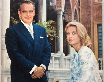 Rare Paris March 10 October 1959 edition of Grace Kelly and Prince Rainier