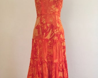 Tracy Feith water color dress