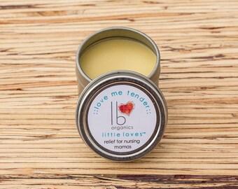 Little Loves // Love Me Tender Organic relief for nursing mamas