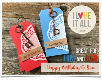 Happy Birthday Card Coupon Book . Fathers Day Engagement Wedding Proposal Groom Groom's Bride Bride's Paper Anniversary Deployment Gift