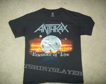 Anthrax Persistence Of Time T-Shirt L