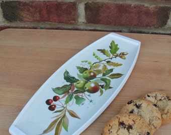 Retro Melamine Bread Tray