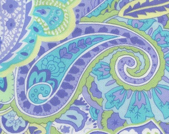 Lovely Paisley Silky Print for Skirt Blouse or Dress By The Yard Spring Fabric