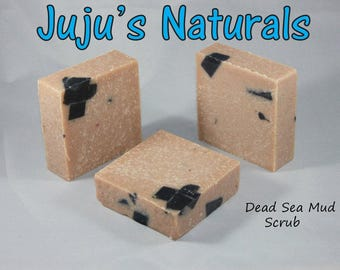 Dead Sea Mud Scrub - Handmade Soap