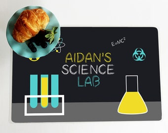 Custom SCIENCE LAB Placemats
