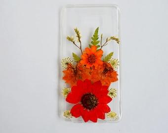 galaxy s7 case pressed flower iphone 6 case iphone 7 pressed flower case daisy iphone case real flower iphone case phone case pressed flower