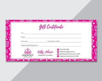 Paparazzi gift etsy paparazzi gift certificate paparazzi accessories gift card back office logo fast free personalization yelopaper Images